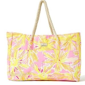 Lilly Pulitzer Beach Tote Bag NWT